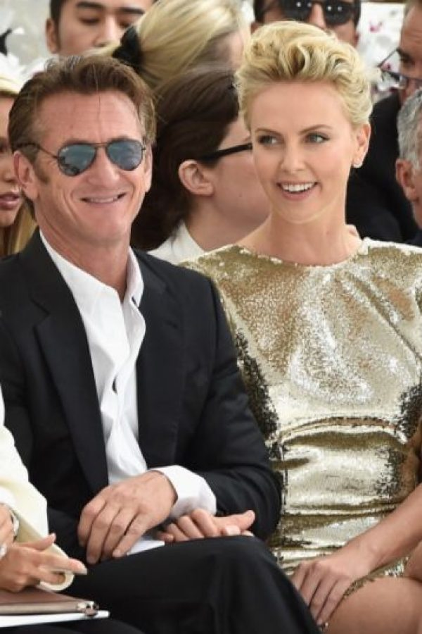 5. Charlize Theron y Sean Penn. Foto:Getty Images