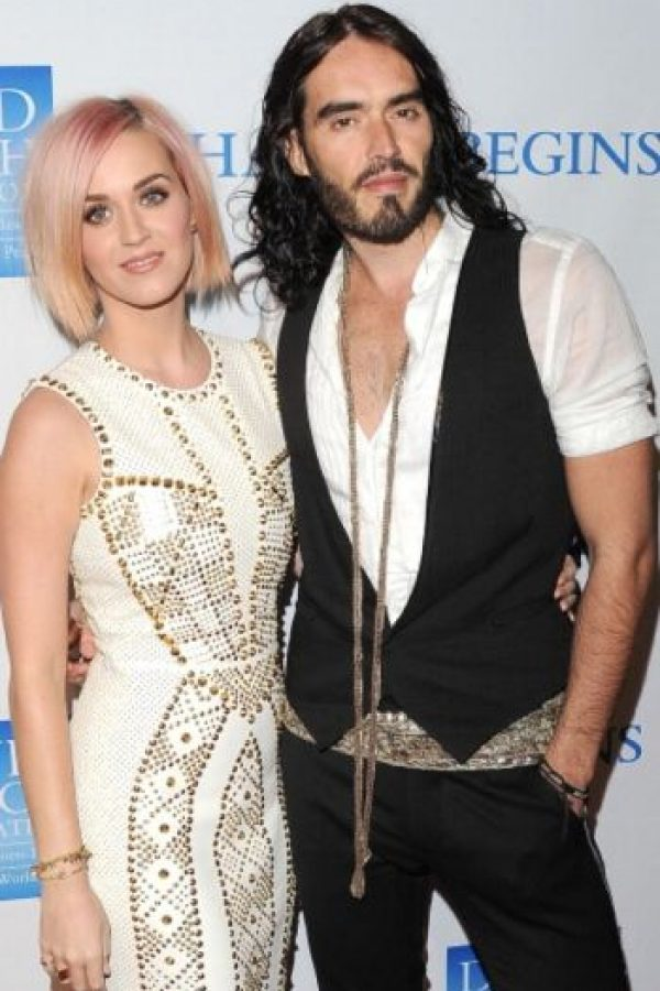 7. Katy Perry y Russell Brand Foto:Getty Images