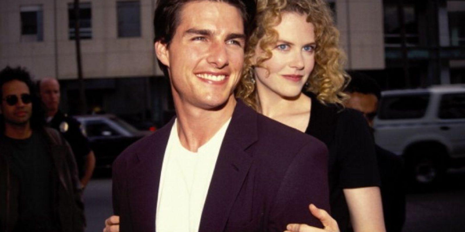 8. Nicole Kidman y Tom Cruise. Foto:Getty Images