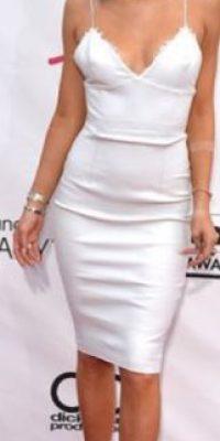 En blanco, Kylie es así. Foto:vía Getty Images