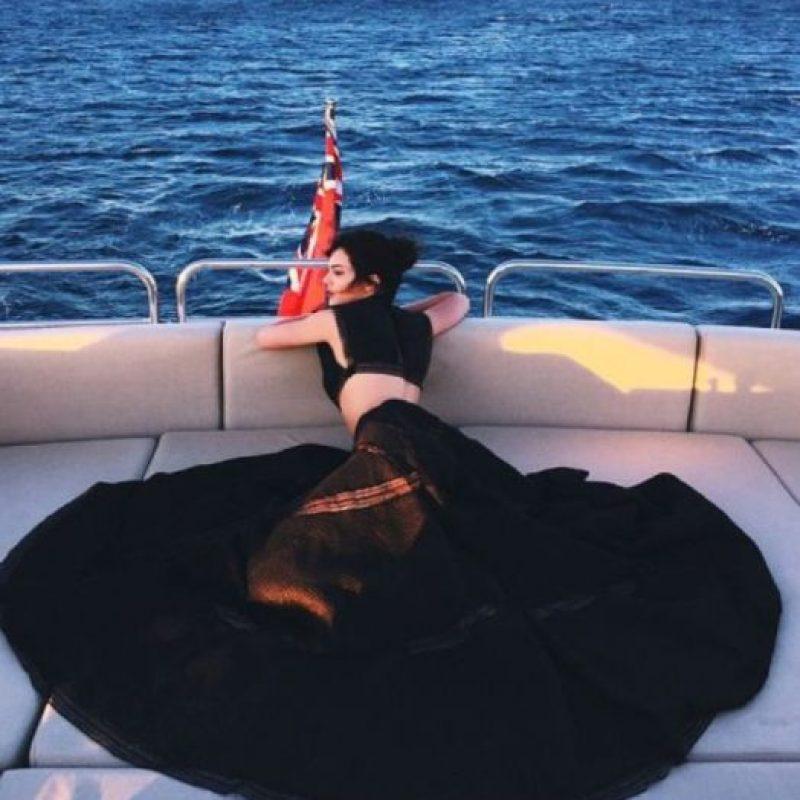 Y sabe llevar al nivel de moda su armario. Foto:vía Instagram/kendalljenner