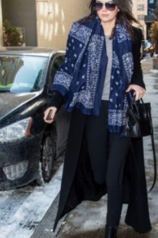 Kendall se ve así de viaje. Foto:vía Getty Images
