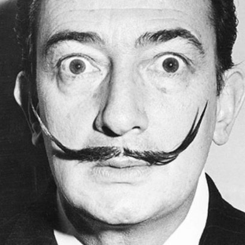 3. El pintor Salvador Dalí Foto:Pinterest