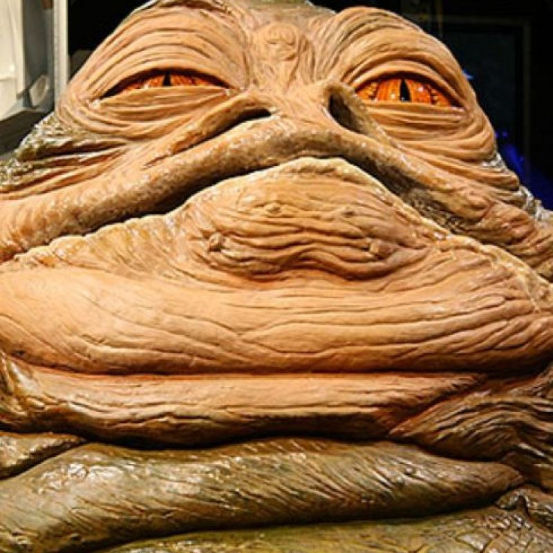 "10. Jabba de ""Star Wars"" Foto: Tumblr"