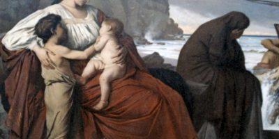 Medea, famoso personaje de la mitología griega, mató a sus dos hijos por venganza. Foto:vía Wikipedia