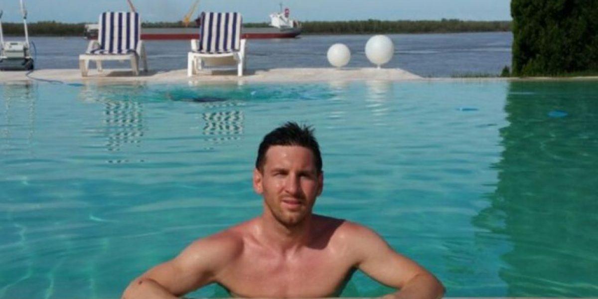 Un presidente se vuelve el chofer particular de Lionel Messi