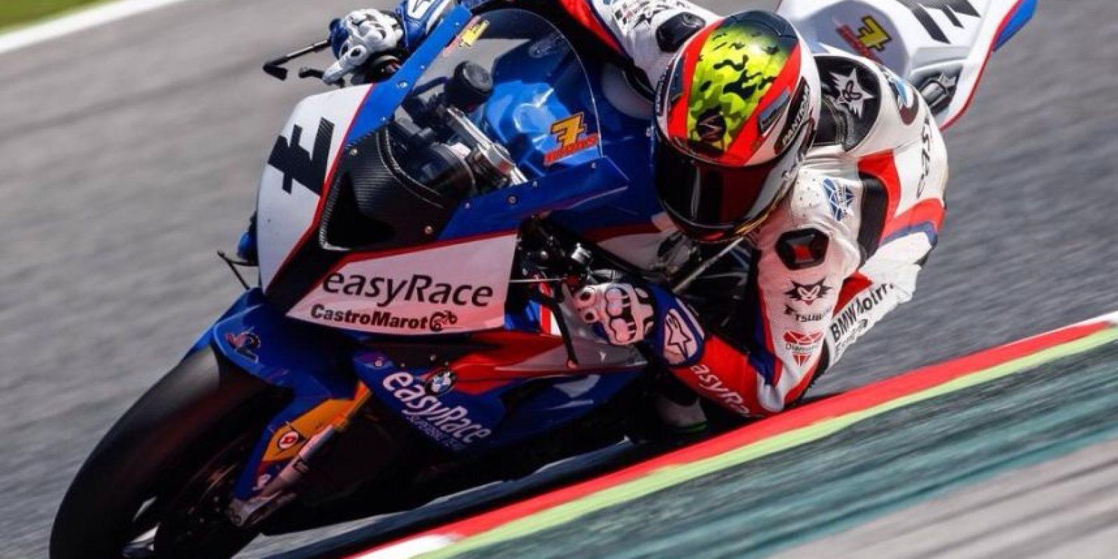 Este 20 de julio, dos motociclistas españoles: Bernat Martínez de 35 años y Dani Rivas (en la foto) de 27, murieron tras un choque en competencia. Foto:Vía facebook.com/pages/Dani-Rivas/672268496201647