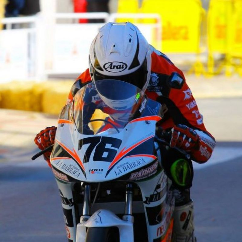 Bernat Martínez (foto) también sufrió graves heridas debido a este múltiple choque, y tanto él, como Rivas, perdieron la vida a causa de las lesiones. Foto:Vía facebook.com/bernatmartinezoficial