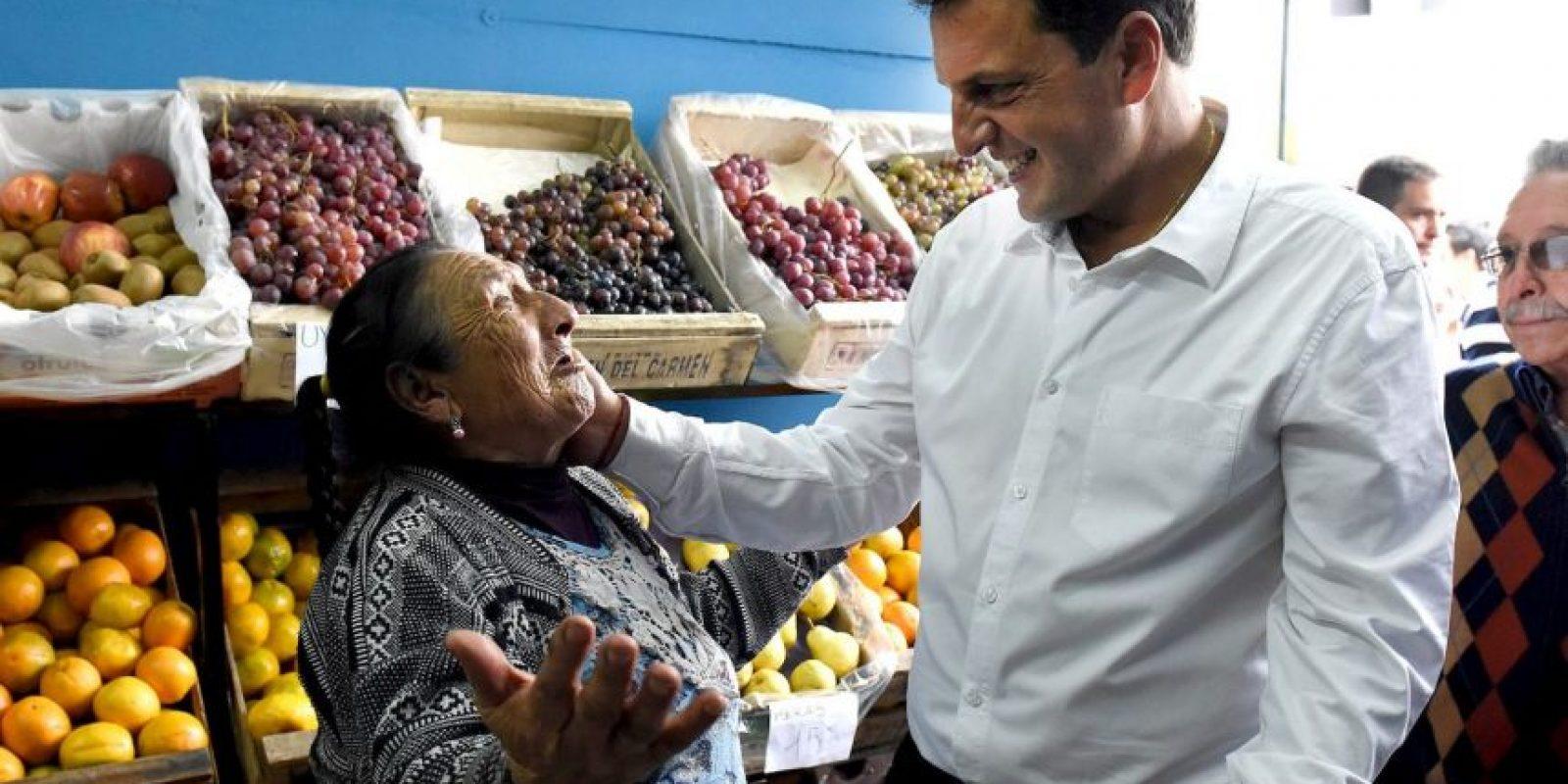 Fue jefe de Gabinete de Cristina Fernández, pero rompió relaciones con ella y en 2013 fundó su propio partido político Foto:Facebook.com/SergioMassaOK
