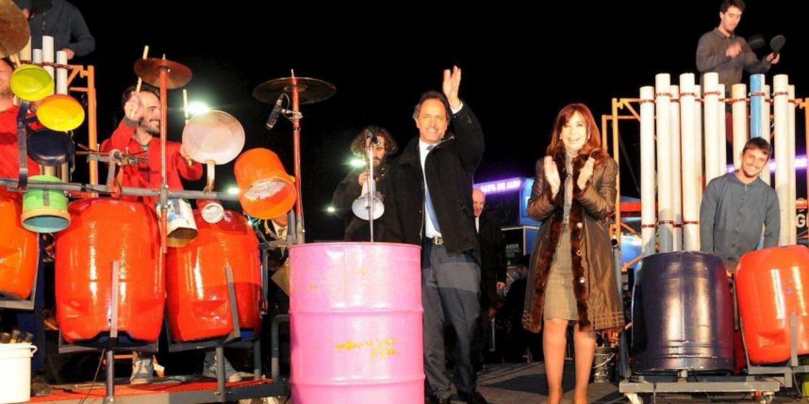 Es el único precandidato del partido liderado por Cristina Fernández Foto:Facebook.com/danielsciolioficial