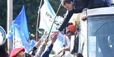 """""""No tiene muchas posibilidades, aunque es un político astuto. Sus cualidades resaltan más que su proyecto político"""", dijo el académico de la UNAM. Foto:Facebook.com/SergioMassaOK"""