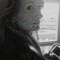 Estas fotos con el filtro se viralizaron en Internet Foto:psychic-vr-lab.com/deepdream/