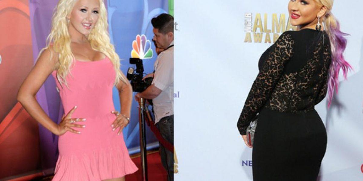 Esta fue la dieta con la que Christina Aguilera logró bajar de peso