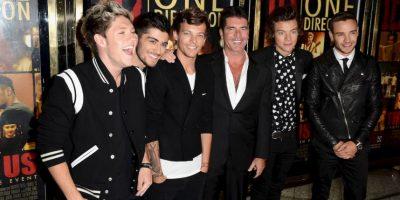 Simon Cowell, productor y mentor de One Direction, confirmó la paternidad de Louis Tomlinson. Foto:Getty Images