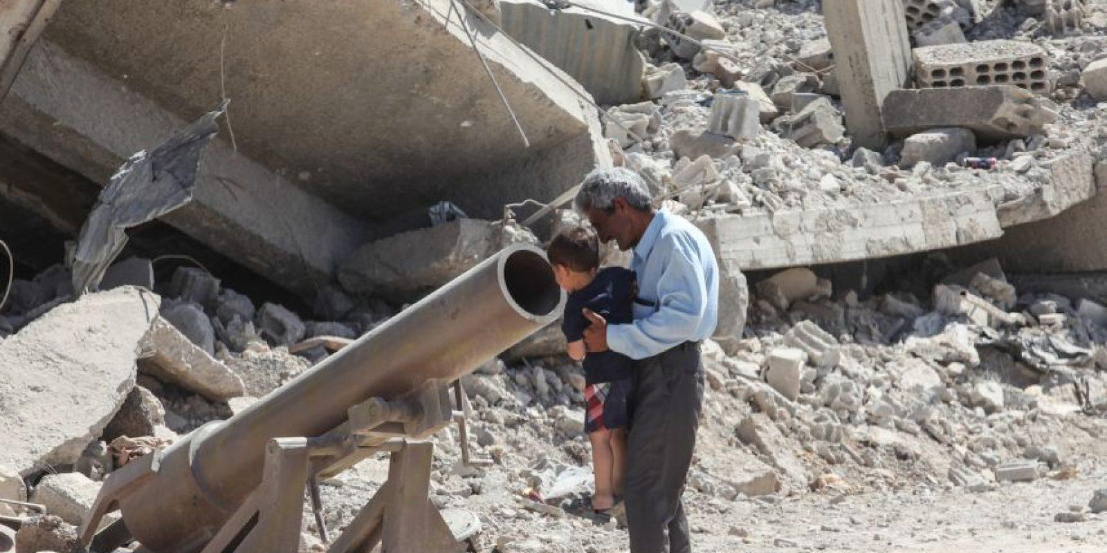 """5. Estos niños son identificados como """"cachorros del Califato"""". Foto:Getty Images"""