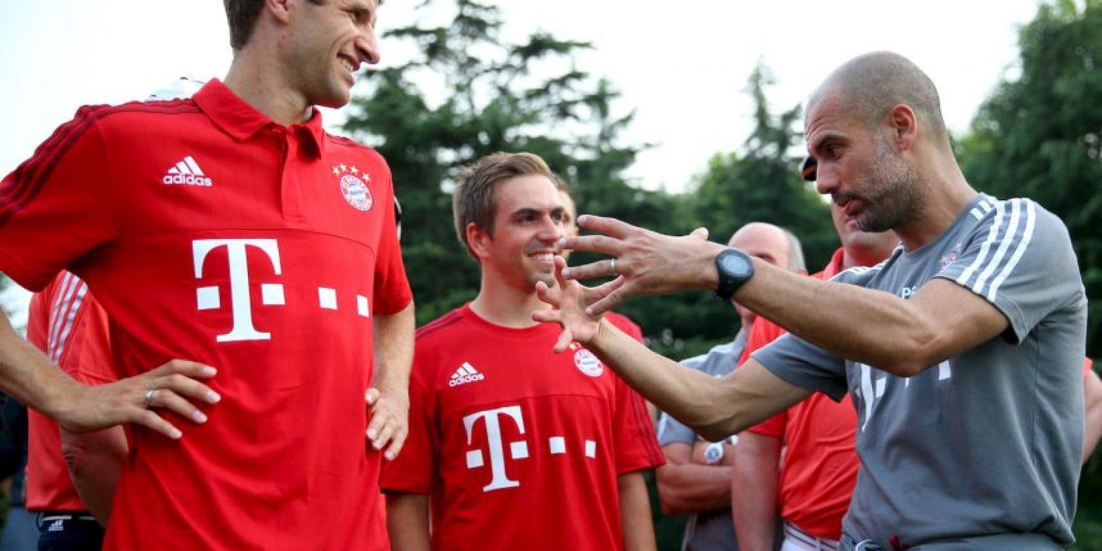 El entrenador español viajó con su equipo al país asiático para una gira de pretemporada. Foto:Getty Images