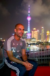 Pep Guardiola está en China con el Bayern Munich. Foto: Getty Images