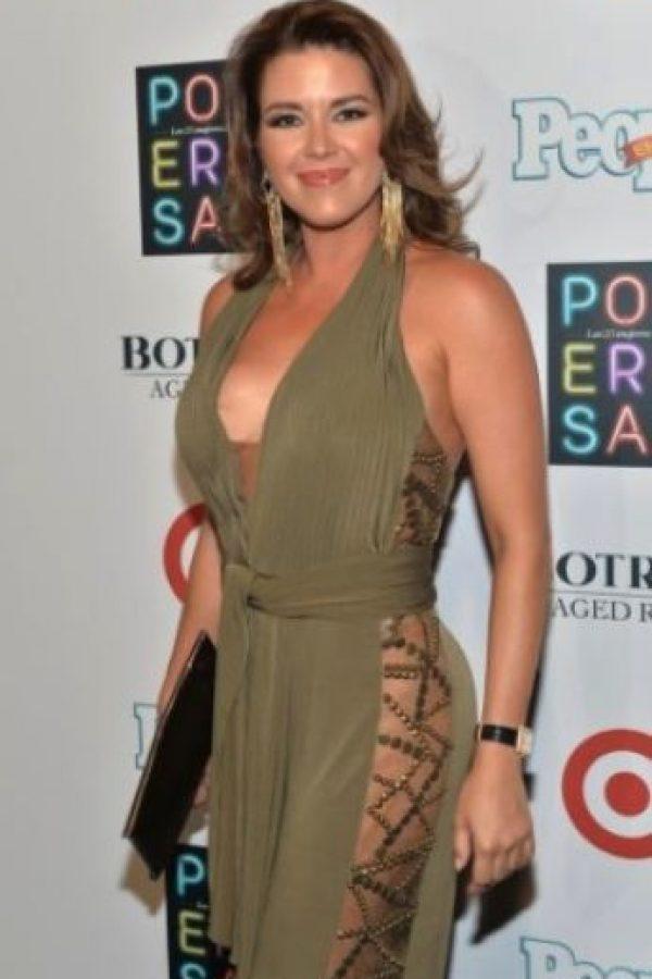 """Alicia Machado.¡Por mi salud! Ojalá me hubieran defendido y protegido de la rata Nazi (durante) Miss Universo 96, con apenas 18 años!"""", escribió en su cuenta de Twitter la ex Miss Universo Foto:Getty Images"""