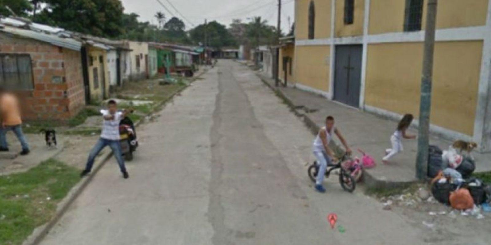 En Google Street view se pueden ver cosas traumáticas como esta… Foto:vía Google Street View