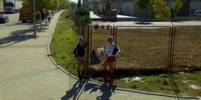 O hacer de este trabajo un negocio. Foto:vía Google Street View