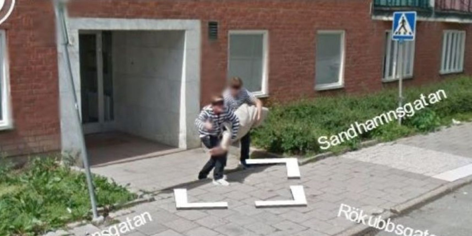 O robando mucho más. Foto:vía Google Street View