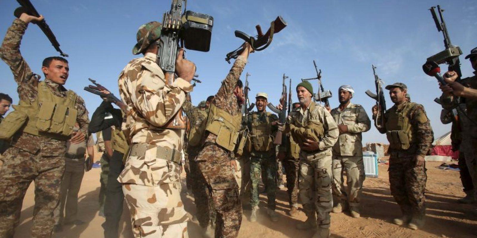 Las detonaciones se hacen por control remoto. Foto:AFP