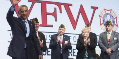 En ella aseguró que no es necesario enviar a militares a resolver todos los problemas de guerra como en el pasado. Foto:AFP