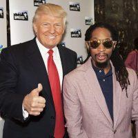 Con el cantante Lil Jon Foto:Instagram.com/RealDonaldTrump