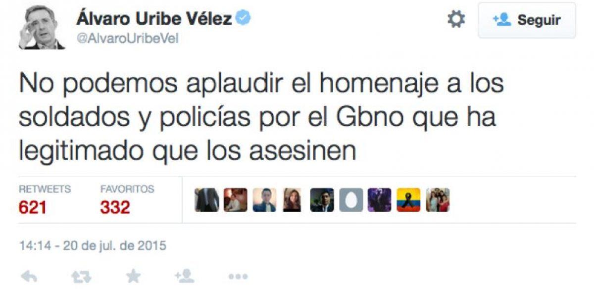 ¡Polémica! Respuestas de Uribe al discurso del presidente Santos
