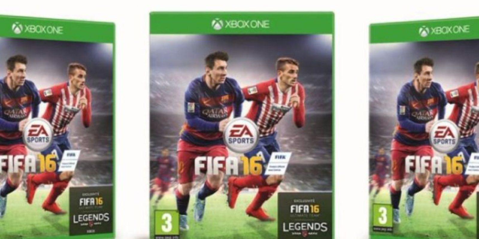 Antoine Griezmann ganó las votaciones para la portada oficial del juego en Francia. Foto:EA Sports