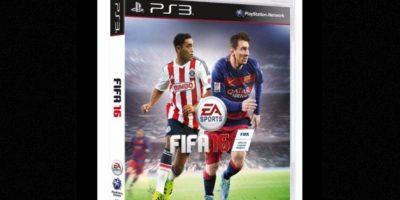 Mexico tendrá esta portada del nuevo juego de FIFA 16, en la que aparece el delantero Marco Fabián, delantero del club Guadalajara de la liga local. Foto:EA Sports