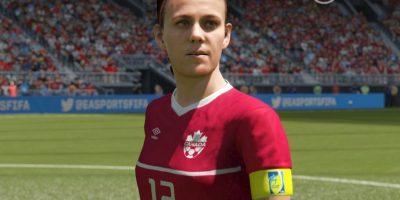 Esta es la figura de la canadiense Sanclair en el videojuego. Foto:EA Sports