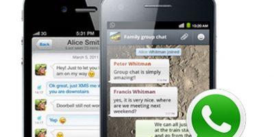 WhatsApp es la principal aplicación de mensajería instantánea de la actualidad. Foto:Tumblr