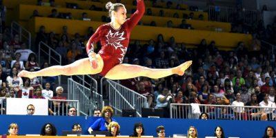 La canadiense de 19 años fue la más ganadora de la gimnasia artística Foto:Getty Images