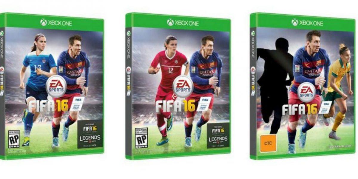 Las 3 mujeres que aparecen junto a Messi en la portada del FIFA 16