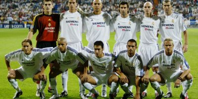 """Durante la primera época de Florentino Pérez al frente del Real Madrid surgieron los """"Galácticos"""", una generación de grandes futbolistas vistiendo la camiseta del club merengue. Aquí les presentamos cómo han cambiado después de 10 años. Foto:Getty Images"""
