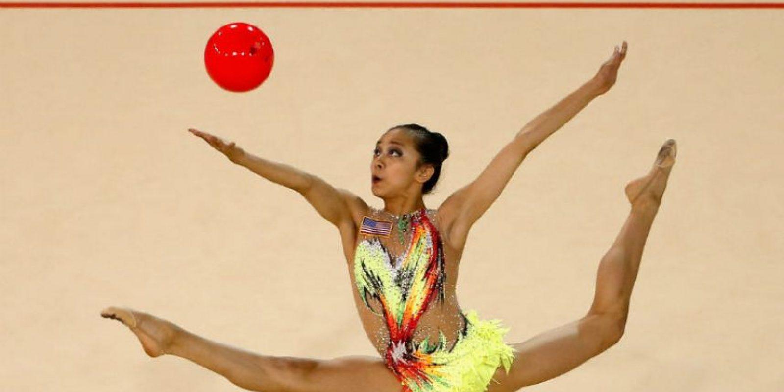 Cosechó cinco medallas de oro Foto:Getty Images