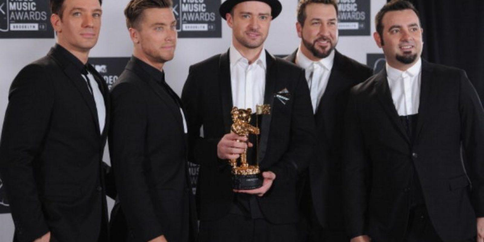 Aquí, la banda original, reunida en 2013. Foto:vía Getty Images