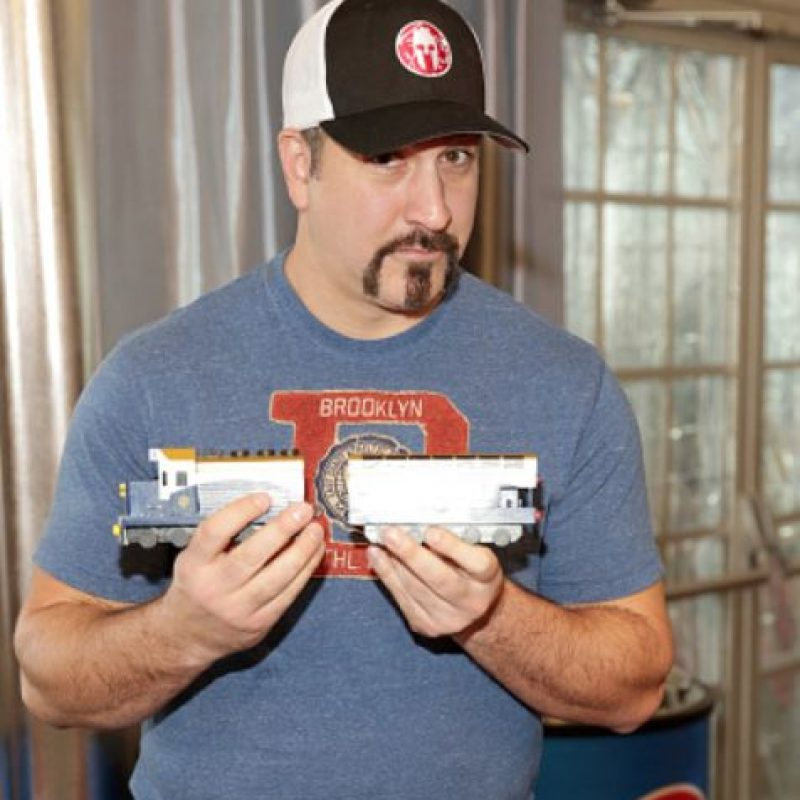 Joey Fatone. Foto: vía Getty Images