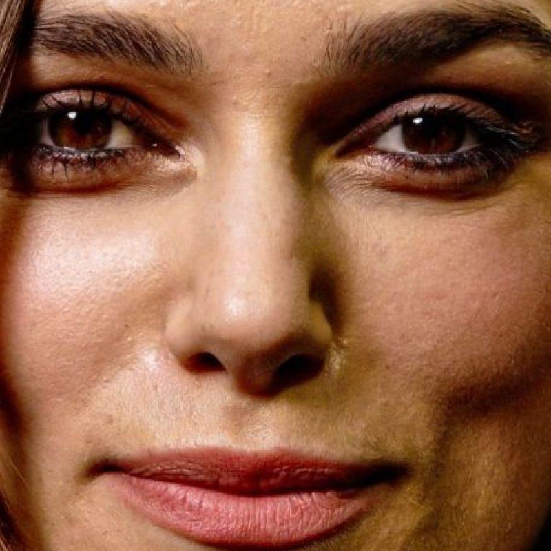 ¿Esta es Keira Knightley? Sí, definitivamente los maquillistas hacen milagros. Foto:vía Getty Images