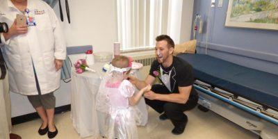 Pero el Hospital hizo eso por ella. Foto:vía Amazing Abby/Facebook