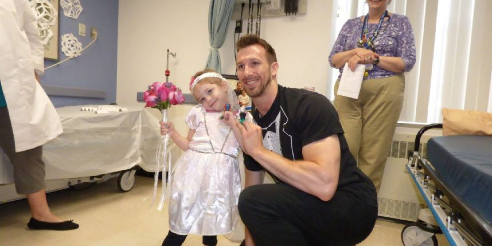 Ese fue un momento muy feliz para la niña. Foto:vía Amazing Abby/Facebook