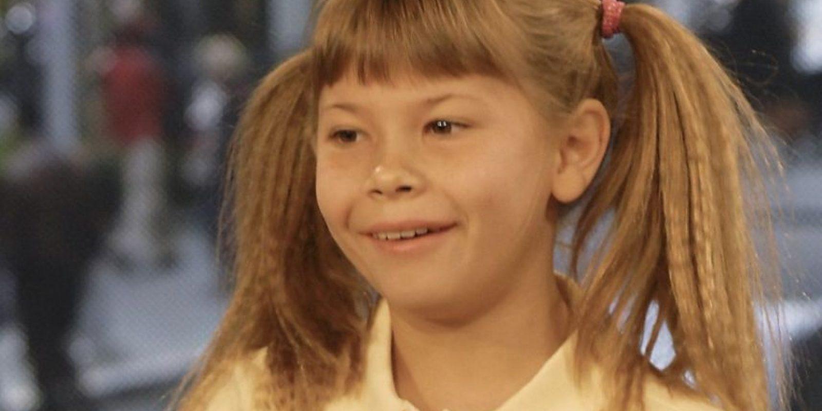 """Desde los dos años se hizo famosa por aparecer en el show de su padre, """"El Diario del Cazador de Cocodrilos"""". Foto:vía Getty Images"""