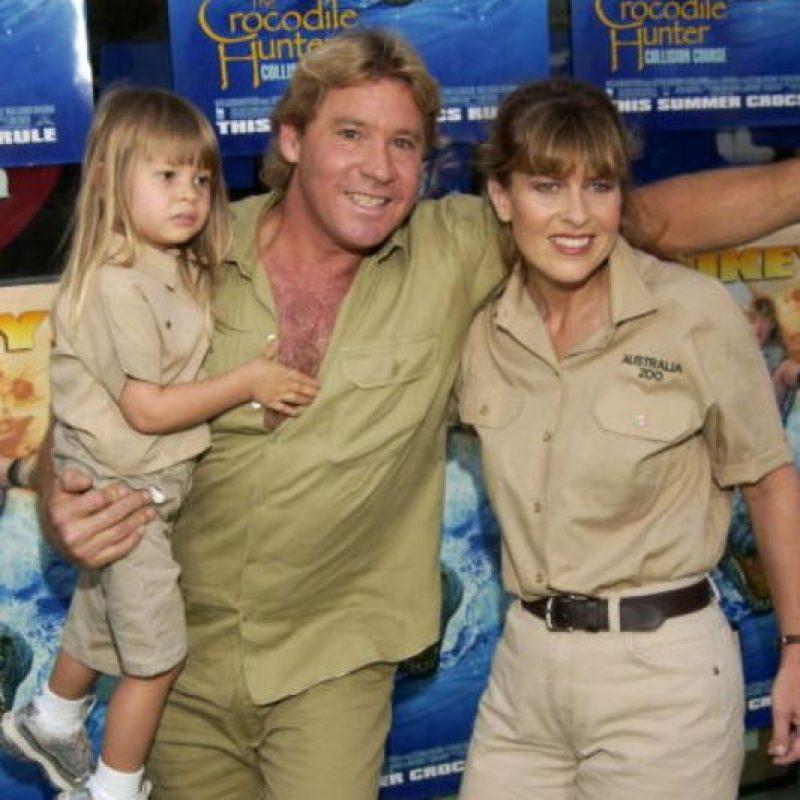 Su padre grababa segmentos para ella. Foto:vía Getty Images