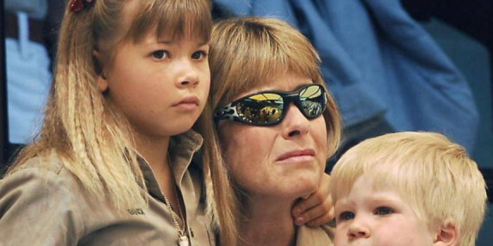 Entonces Steve Irwin murió por el ataque de una raya látigo que impactó en su corazón. Eso fue en 2006. Foto:vía Getty Images