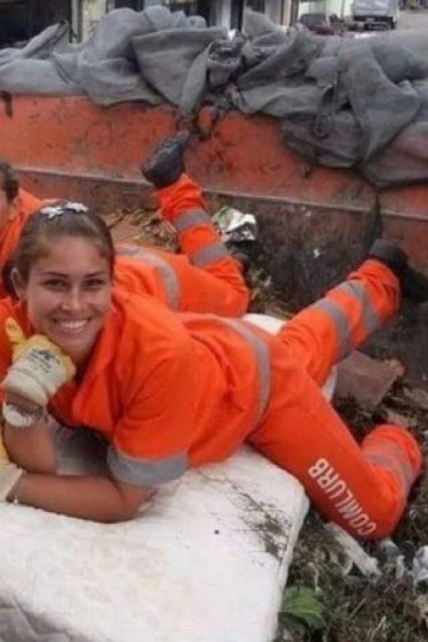 1. Rita Mattos, la barrendera que está cautivando Internet Foto:Vía Facebook/RitaMattos