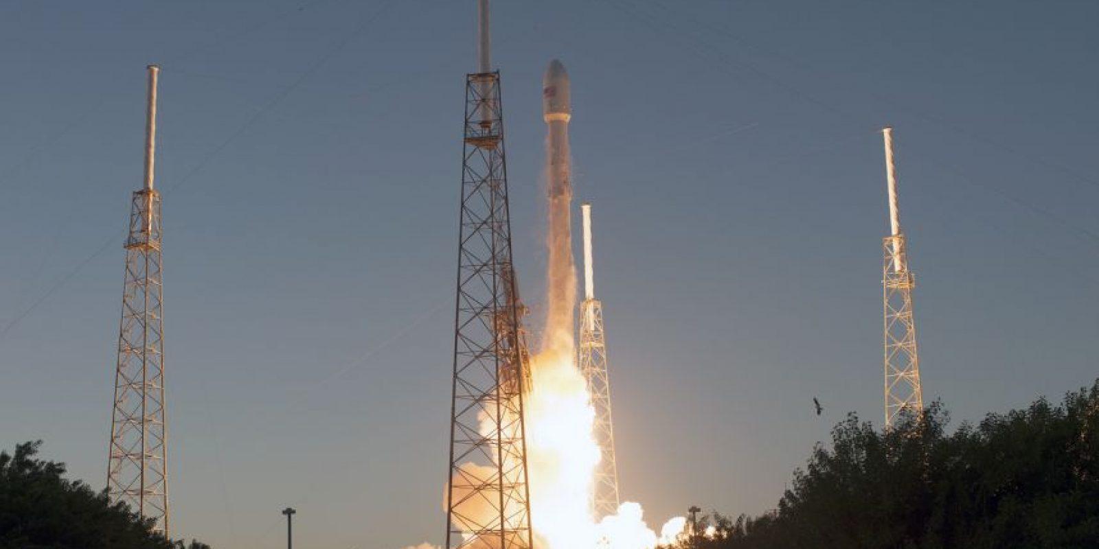 Capturada por el satélite DSCOVR de la NASA. Foto:Vía flickr.com/nasa_goddard