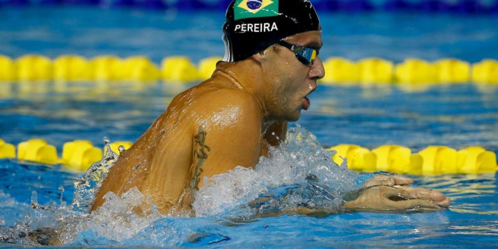 Y obtuvo plata en 200 metros combinado individual y bronce en 200 metros pecho Foto:Getty Images