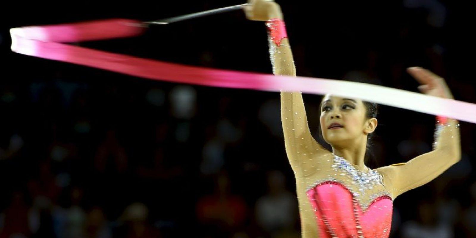 La estadounidense de 15 años se convirtió en la reina de los Juegos Panamericanos Foto:Getty Images