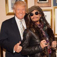 El cantante Steven Tyler Foto:Instagram.com/RealDonaldTrump